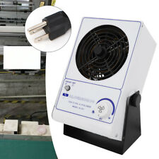 110V Pc Ionizing Air Blower Fan Ion Anti-Static Elimination Eliminator Adjustabl