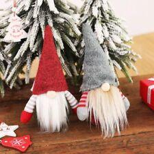 2021 Christmas Faceless Gnome Santa Tree Hanging Ornament Doll Decoration NEW