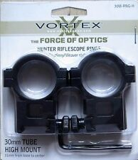 Vortex Scope Rings for Picatinny/Weaver base 30mm Tube High Mount - New