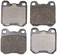 For Saab 9-3 Saturn L300 Rear Disc Brake Ceramic Pads Monroe Brakes CX709