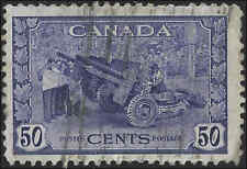 Canada - 1942 - SG387 - Munitions Factory - Used - 50c