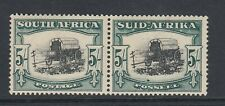 SOUTH AFRICA POSTAGE STAMP SG64 5/- PAIR - MNH - Variety!