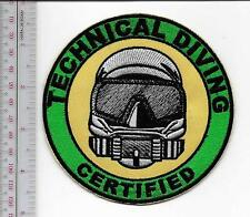 SCUBA Hard Hat Commercial Diver Technical Diving Certified Diver Specialists lg