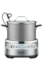 NEW Breville One Precision Poacher Silver BEG800SIL
