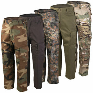 US Kinderhose BDU XS-3XL Outdoor Cargo Army Tarnhose Kinder Ranger Hose tarn Neu