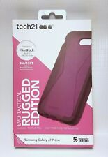 Tech21 Evo Tactical Case Rugged Edition Samsung Galaxy J7 Prime Violet T21-5706