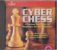 Cyber Chess-PC-CD Rom Spiel in Jewel Case Sealed