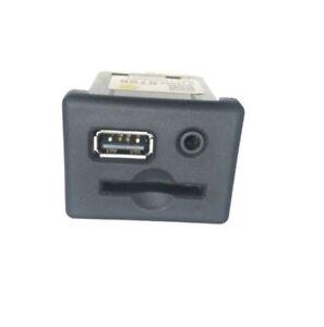 USB SD Memory Card Slot Aux Socket Jack for Buick Chevrolet GMC Verano Malibu