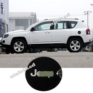For Jeep Compass 2007-16 Metal External Gas Cap Fuel Tank Cover Trim