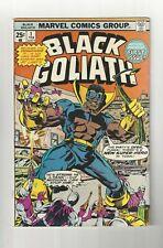 Black Goliath #1 3.5 (O/W) VG- Origin Story Marvel Comics 1976 Bronze Age