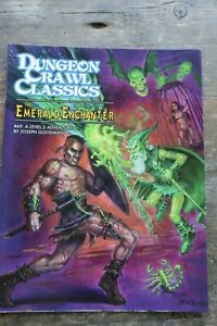 DCC#69 - The Emerald Enchanter - Dungeon Crawl Classics - RPG