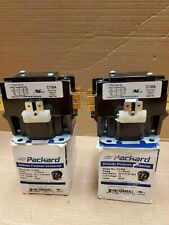 Lot of 2 Packard C130A Contactor 1 Pole 30 Amps 24 Coil Voltage