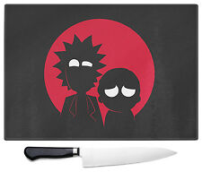 Rick e Morty grande di vetro di tritare tagliere da Nerd cartoni animati