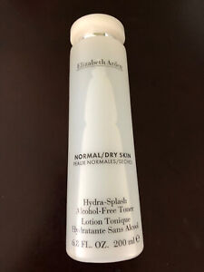 Elizabeth Arden Hydra-Splash Alcohol-Free Toner Normal Dry Skin 6.8 fl oz NEW