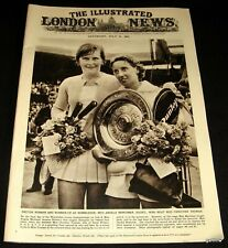 Tennis 1961 Wimbledon 1961 Champions Pictorial Rod Laver & Angela Mortimer