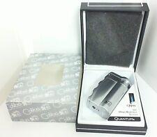 Colibri Quantum Fusion Satin Silver Lighter QTR320002