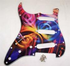 Mano SINISTRA d'arte Scratchplate per Fender Strat / PG66