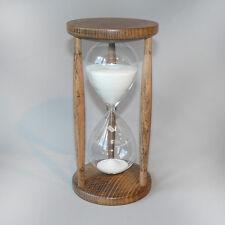 Sanduhr Stundenglas Sanduhren Buche gebeizt 60 Minuten 1 Stunde