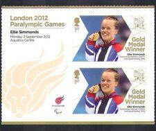 GB 2012 Paralympics/Olympics/Sports/Gold Medal Winners/Ellie Simmonds 2v n36327