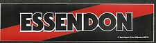 1982 Original Essendon Bombers Football Club Sticker Decal Long