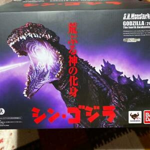 S.H.Monsterarts Shin Godzilla 2016 The Fourth Awakening Ver Bandai Action Figure