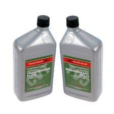 For Set of 2 Quarts Automatic Transmission Fluids CVT-1 Genuine for Acura Honda
