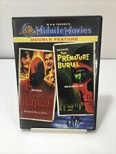 Masque Of The Red Death / Premature Burial MGM Midnite Movies Double Feature DVD