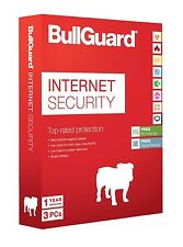 BULLGUARD INTERNET SECURITY LATEST EDITION - 1 YEAR - 3 USER LICENCE WITH 5GB