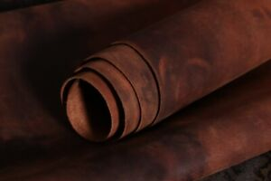 Quality Leather Skins Sheets Genuine Buff Leather Cognac High watches