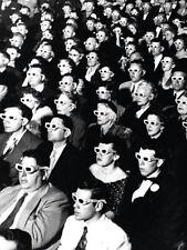 La vida del tiempo - 3D espectadores película Lienzo Enmarcado-listo