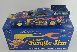 1/24 BOB GILBERTSON JUNGLE JIM TRIBUTE CAMARO FUNNY CAR #32 OF ONLY 500