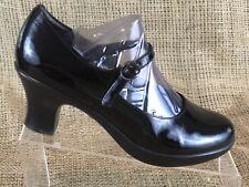 DANSKO Patent Leather Buckle Mary Jane Pumps Shoes Womens Size EU 37 US 6.5 - 7