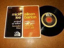 MICKI LEE / EILEEN BARTON - EP FRENCH 20TH 218002 / LISTEN - SOUL - TEEN POPCORN