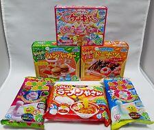 6 pcs Kracie DIY making kit Happy Kitchen popin cookin Japanese candy HAMBURGER