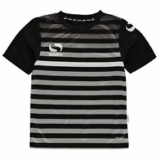 Sondico Kids Boys SPro Rio T Shirt Juniors Short Sleeve Performance Tee Top Crew