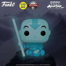 FUNKO POP! 940 AANG (Spirit) GITD Avatar - Earth Day Special Ed. Glow - PREORDER