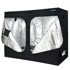 """Quictent 96""""x48""""x78"""" Reflective Mylar Hydroponic Grow Tent with Waterproof Tray"""
