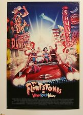 FLINTSTONES IN VIVA ROCK VEGAS - UNFOLDED 2000 MOVIE POSTER 27X40 - BALDWIN