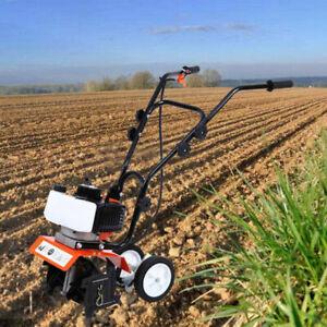 Neu Gartenfräse Benzin Motorhacke Gartenhacke Bodenfräse Kultivator Fräse