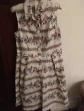 TU floral collared swing dress size 12
