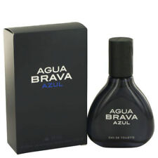 Agua Brava Azul for Men Antonio Puig Eau de Toilette Spray 3.4 oz - New in Box