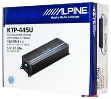 Alpine KTP-445U 4-Channel Universal Head Unit/ Car Power Pack Amplifier KTP445U