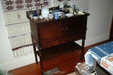 Antique 1800s Farmhouse Dining Room Cabinet Sideboard John Hayes Warren Ohio
