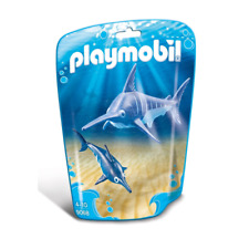PLAYMOBIL Swordfish with Baby Playsets - Blue (9068)