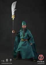 Romance of Three Kingdoms Guan Yu Clothing & Head & Sword Set 1/6 (NO BODY)