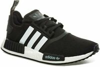 ADIDAS Originals NMD R1 Boost Unisex Trainers Sport Shoes Black White Brand New