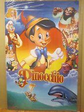 vintage The Walt Disney Company original Pinocchio  poster 12031