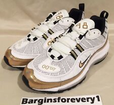 timeless design 6098a ec921 New Nike Air Max 98 UK - Size 9 - Summit White Metallic Gold -