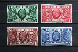 England 1935 Jubiläum Georg V. MiNr. 189-192 postfrisch