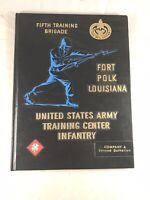 1966 U.S. ARMY TRAINING CENTER INFANTRY FIFTH TRAINING BRIGADE FORT POLK LA.